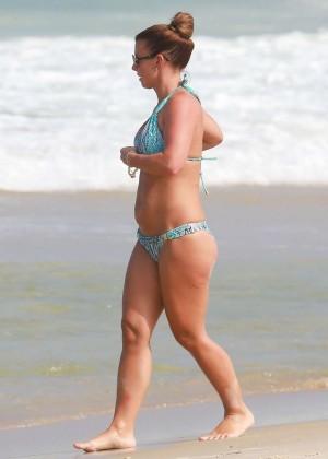 Coleen Rooney Bikini: 2014 in Rio de Janeiro -16