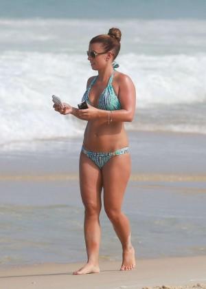 Coleen Rooney Bikini: 2014 in Rio de Janeiro -20