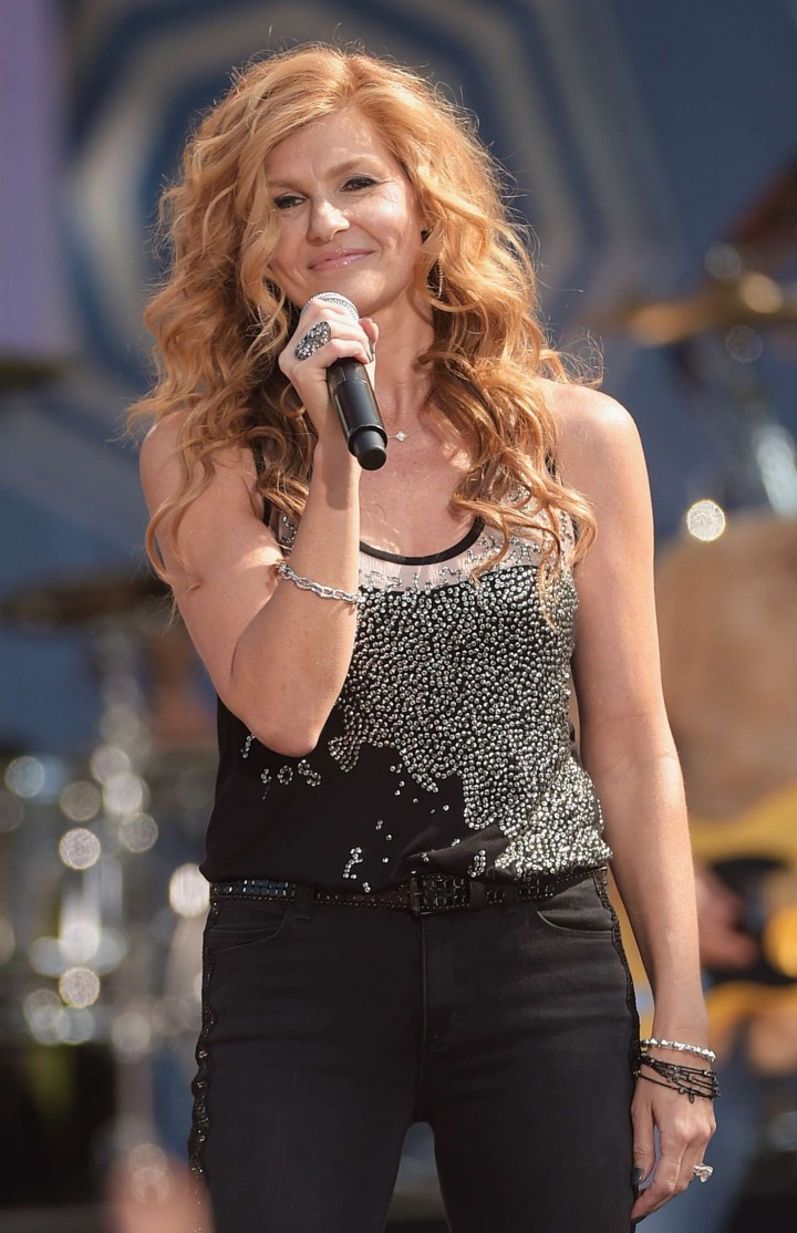 Connie Britton - Performing on Good Morning America