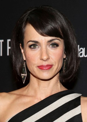 Constance Zimmer: 2014 The Weinstein Company and Netflix GG after party -04