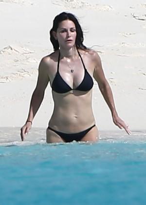Courteney Cox bikini 2014  -01