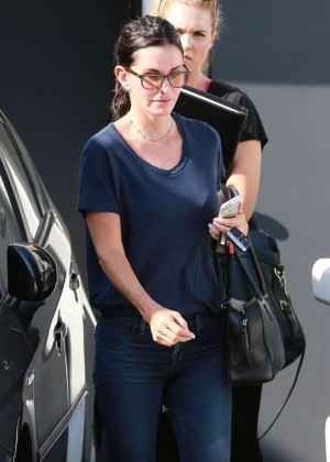 Courteney Cox in Tight Jeans Out in Beverly Hills