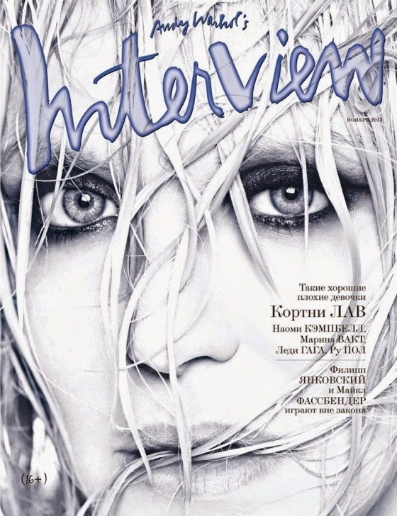 Courtney Love – Interview Russia Magazine (November 2013)