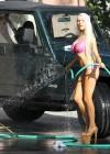 Courtney Stodden - Bikini Car Wash -06