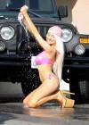 Courtney Stodden - Bikini Car Wash -07