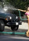 Courtney Stodden - Bikini Car Wash -16