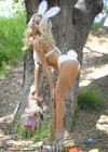 Courtney Stodden Wear Bikni and Bunny Ears - Celebrate Easter - April 2012