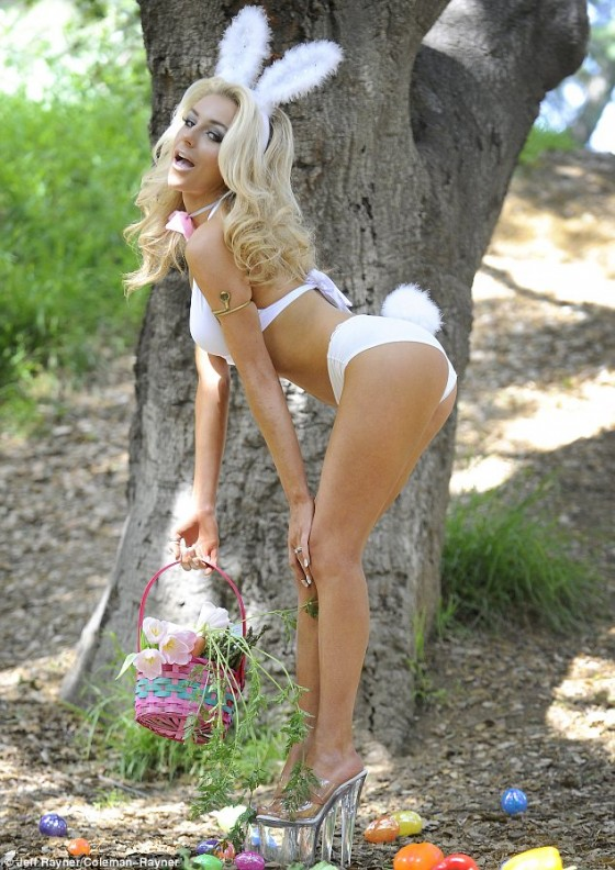 Courtney Stodden – Bikni and Bunny Ears – Celebrate Easter-07