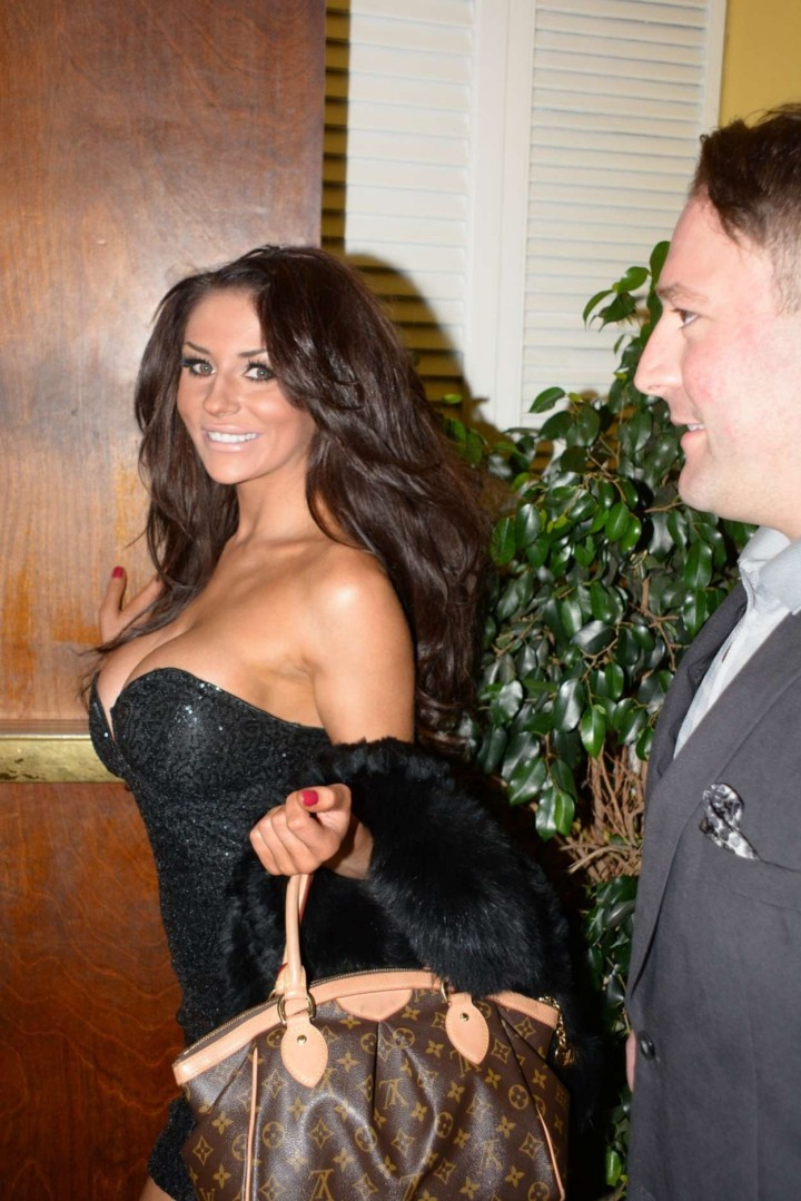 Courtney Stodden out for dinner with producer David Weintraub