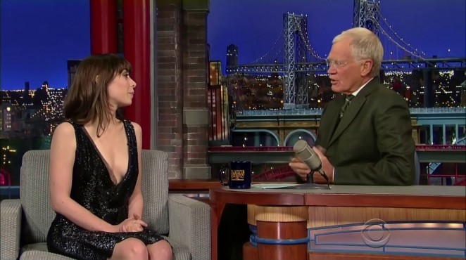 Cristin Milioti - Late Show with David Letterman in NY