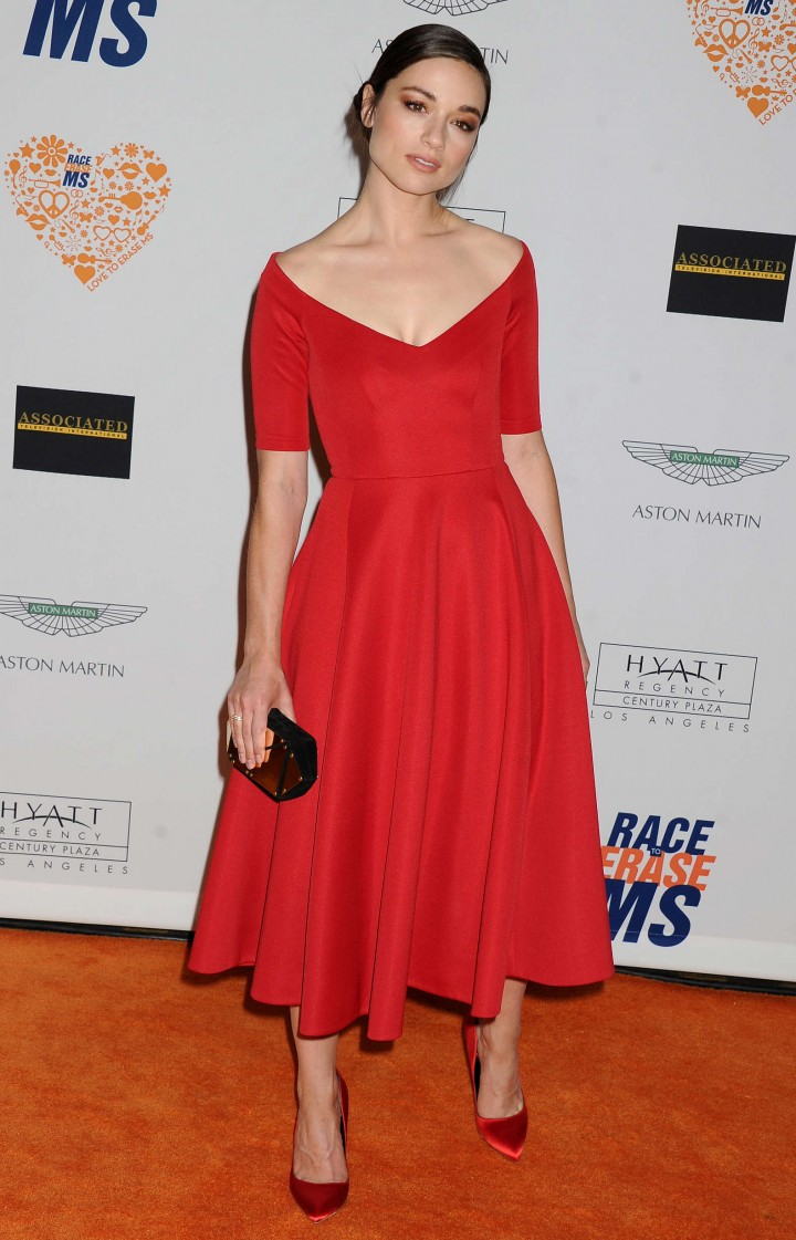 Crystal Reed – 21st Annual Race To Erase MS event in Century City