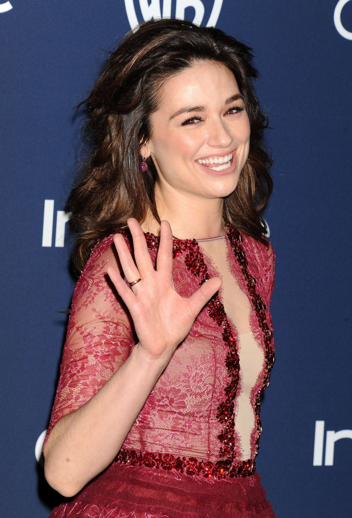 Crystal Reed – InStyle & Warner Bros Golden Globes after party