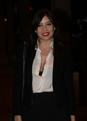 Daisy Lowe: The Late Late Show in Dublin -02