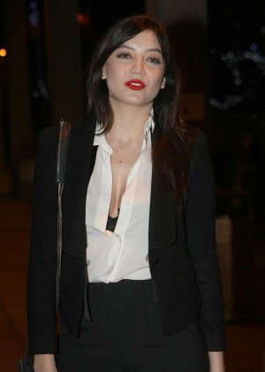 Daisy Lowe: The Late Late Show in Dublin -03