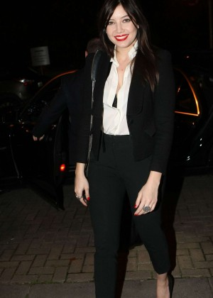 Daisy Lowe: The Late Late Show in Dublin -04