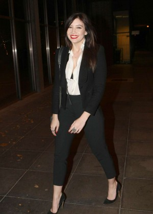 Daisy Lowe: The Late Late Show in Dublin -05