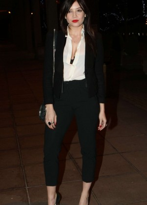 Daisy Lowe: The Late Late Show in Dublin -06