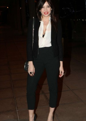 Daisy Lowe: The Late Late Show in Dublin -07