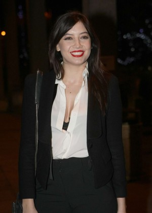 Daisy Lowe: The Late Late Show in Dublin -10