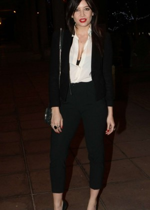 Daisy Lowe: The Late Late Show in Dublin -11