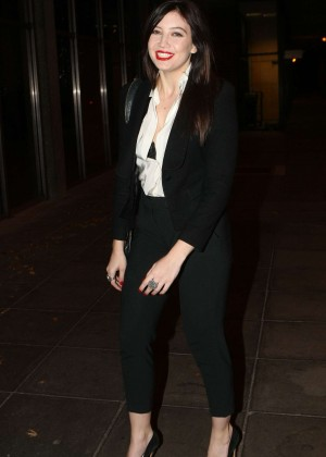 Daisy Lowe: The Late Late Show in Dublin -12