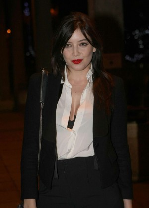 Daisy Lowe: The Late Late Show in Dublin -14