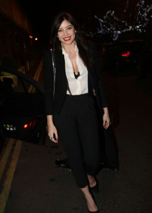 Daisy Lowe: The Late Late Show in Dublin -15