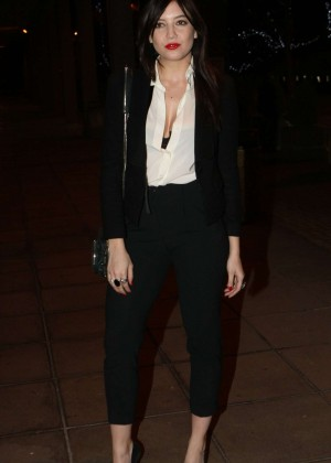 Daisy Lowe: The Late Late Show in Dublin -16