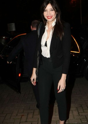 Daisy Lowe: The Late Late Show in Dublin -17