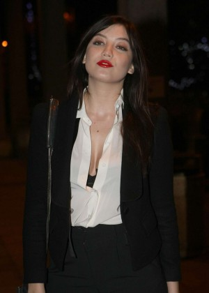 Daisy Lowe: The Late Late Show in Dublin -19