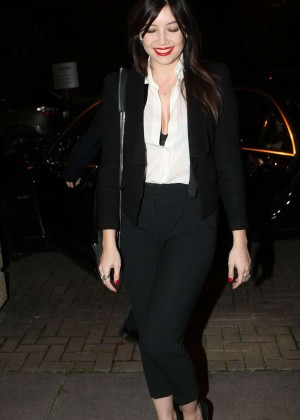Daisy Lowe: The Late Late Show in Dublin -20