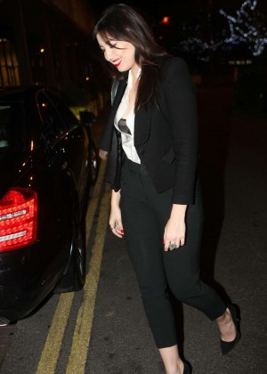 Daisy Lowe: The Late Late Show in Dublin -21