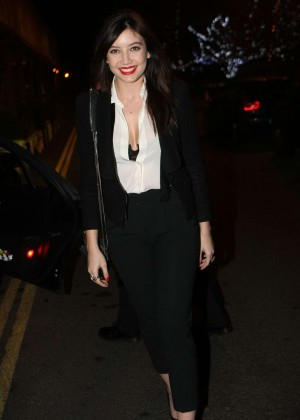 Daisy Lowe: The Late Late Show in Dublin -22