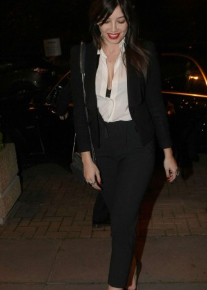 Daisy Lowe: The Late Late Show in Dublin -23