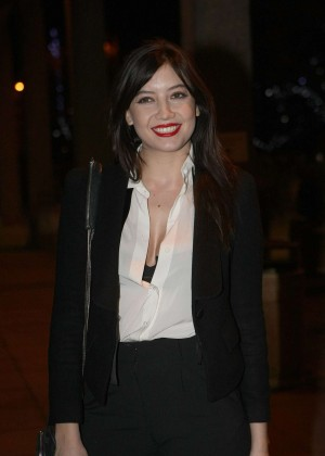 Daisy Lowe: The Late Late Show in Dublin -25