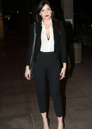 Daisy Lowe: The Late Late Show in Dublin -26