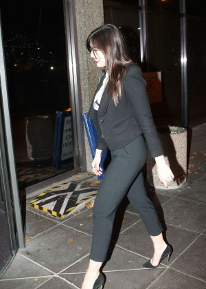 Daisy Lowe: The Late Late Show in Dublin -28