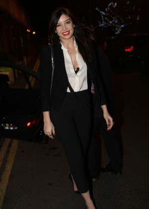 Daisy Lowe: The Late Late Show in Dublin -29