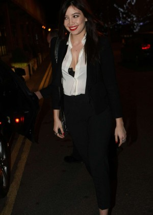 Daisy Lowe: The Late Late Show in Dublin -30