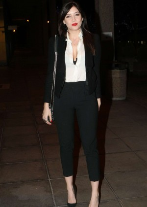 Daisy Lowe: The Late Late Show in Dublin -31