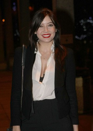 Daisy Lowe: The Late Late Show in Dublin -32