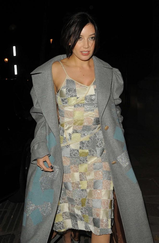 Daisy Lowe - Jonathan Saunders Show SS 2015 London Fashion Week