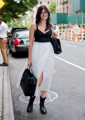 Daisy Lowe Out in Soho, New York City