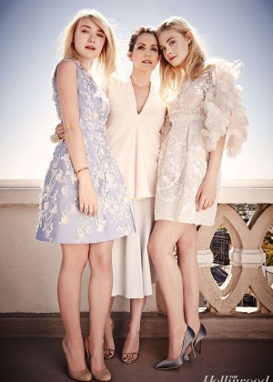 Dakota and Elle Fanning: The Hollywood Reporter Top Stylists 2014 -03