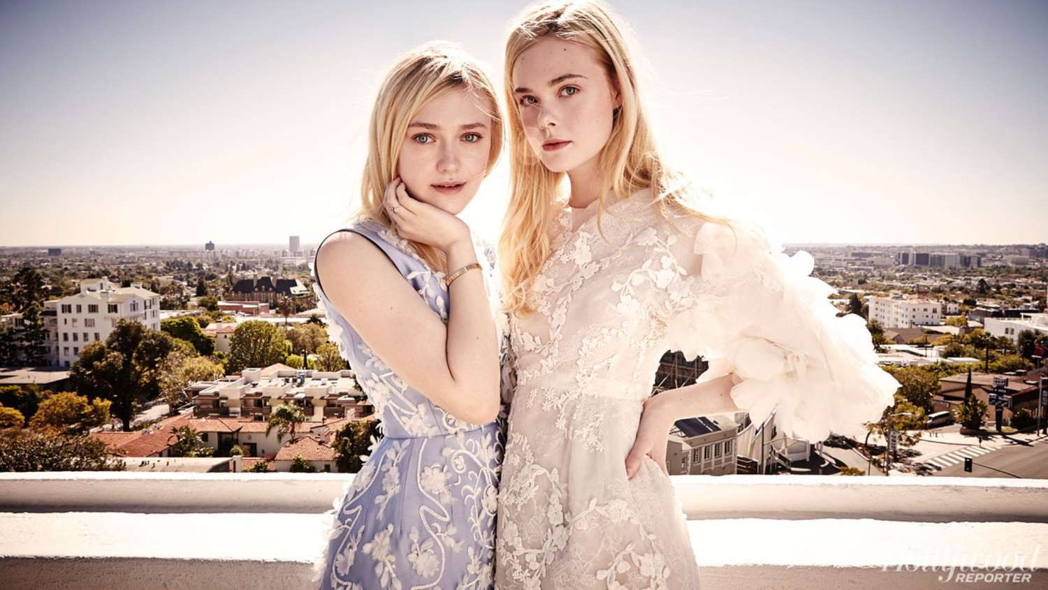 Dakota and Elle Fanning: The Hollywood Reporter Top ...