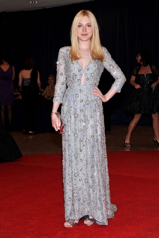 Dakota Fanning – 2012 White House Correspondents' Association Dinner