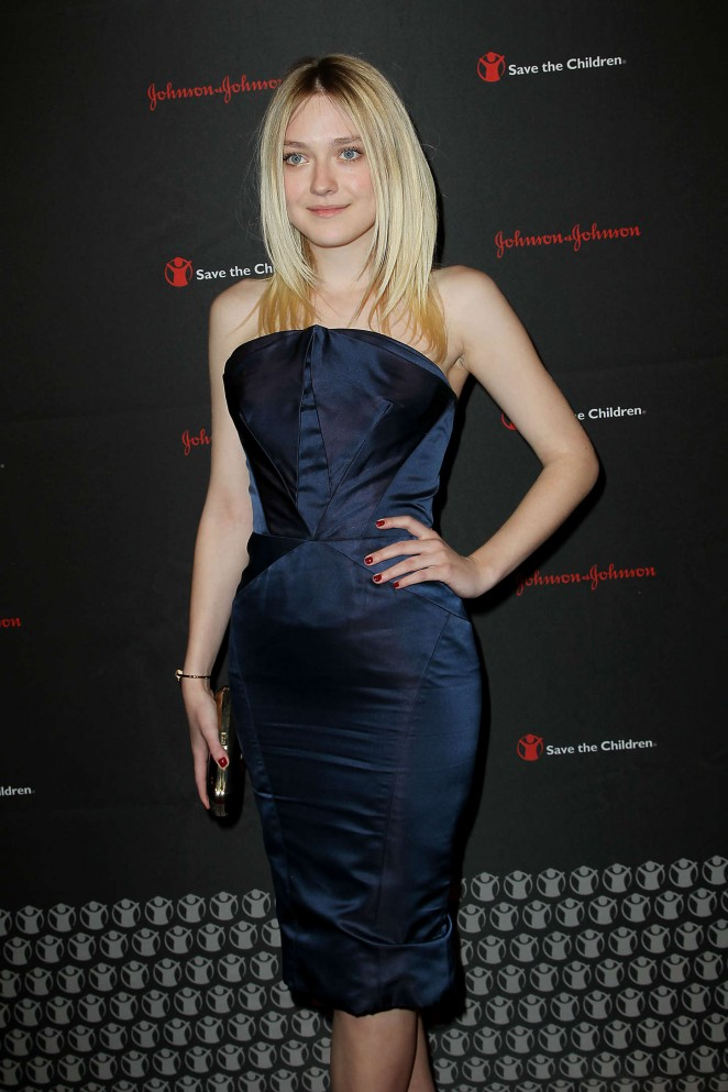 Dakota Fanning – 2nd Annual Save the Children Illumination Gala in NY
