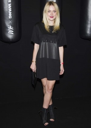 Dakota Fanning - Alexander Wang x H&M Collection Launch in NYC