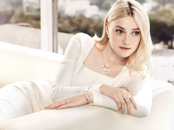 Dakota Fanning: Steven Hong Photoshoot 2013 -02