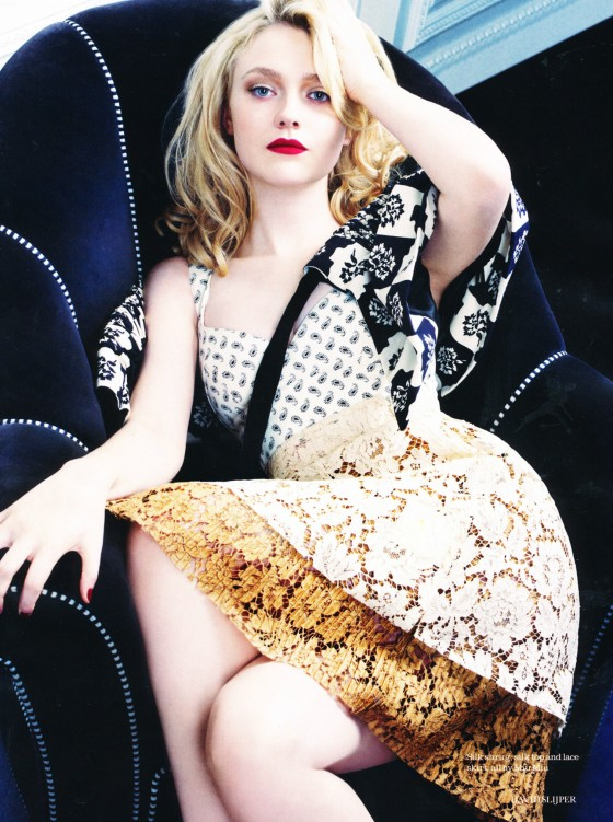 Dakota Fanning - Elle Magazine UK-08